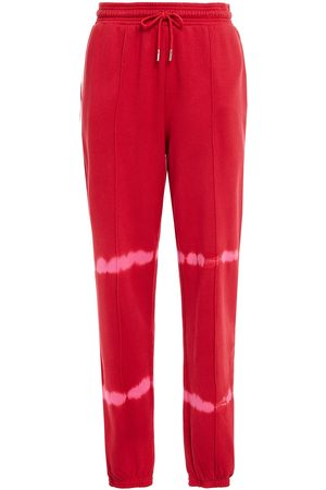 NINETY PERCENT Women Trousers - Woman Tie-dyed French Cotton-terry Track Pants Size L
