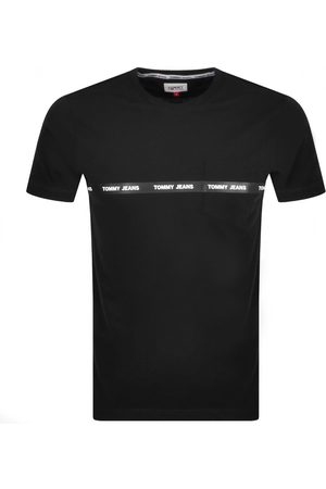 Tommy Jeans Men Trousers - Branded Tape T Shirt