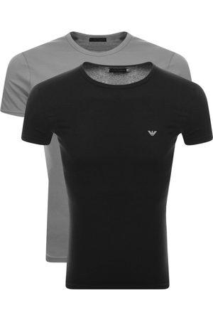 Armani Men Loungewear - Emporio 2 Pack Lounge T Shirts