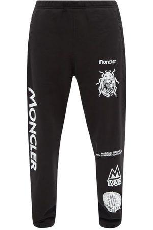 Moncler 1952 - Logo-print Cotton-jersey Track Pants - Mens