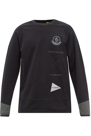 Moncler 1952 - Logo-print Fleece Sweatshirt - Mens