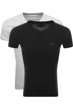 Armani Men Loungewear - Emporio 2 Pack V Neck Lounge T Shirts