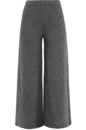 Proenza Schouler Women Wide Leg Trousers - Knitted Wide-leg Trousers - Womens