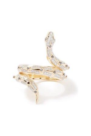 Harris Reed X Missoma Snake Diamond & 14kt Recycled Ring - Womens - Multi