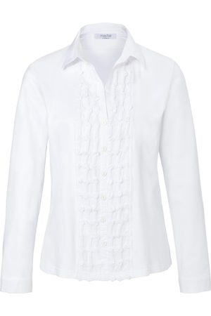 mayfair by Peter Hahn Jersey blouse in 100% cotton size: 10