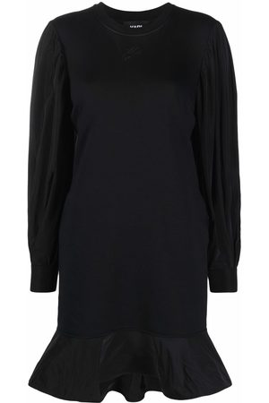 Karl Lagerfeld Women Dresses - Long puff-sleeves sweatdress