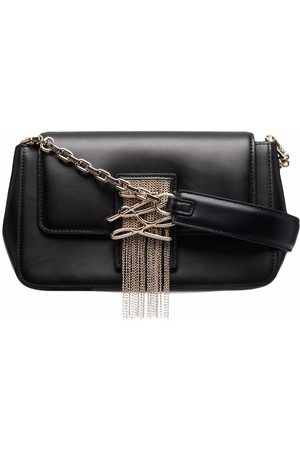 Karl Lagerfeld K/Autograph leather clutch bag