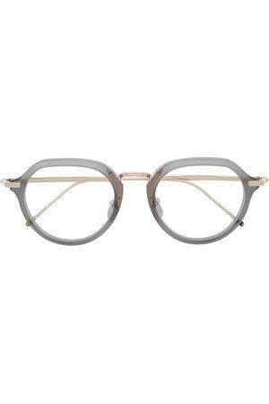 Thom Browne Eyewear Round-frame glasses