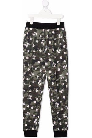 Monnalisa Camouflage-print track pants