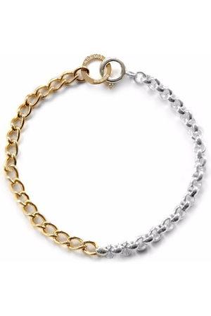 NORMA JEWELLERY Men Bracelets - Aquila two-tone bracelet