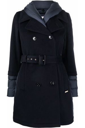 Woolrich Kuna quilted-finish trench coat