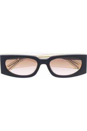Gcds Rectangular frame sunglasses - Neutrals