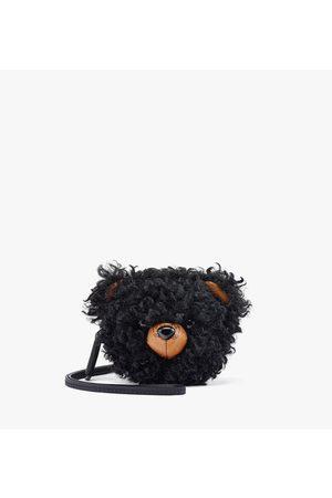 MCM Men Purses & Wallets - Bear Pouch Charm in Faux Fur Visetos