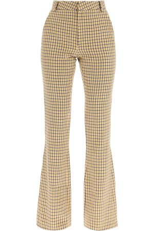 Alessandra Rich SEQUINED BOOTCUT TROUSERS 40 , , Wool