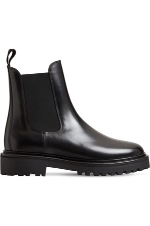 Isabel Marant 20mm Castay Leather Chelsea Boots