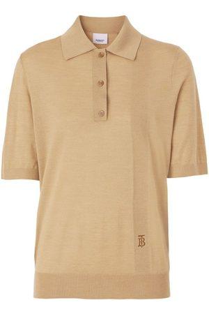 Burberry Monogram Knit Polo Shirt