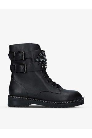Kurt Geiger London Women Biker Boots - Stoop leather biker boots