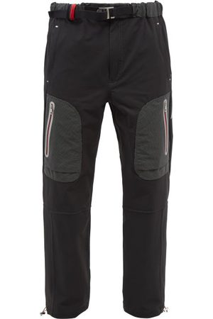 Moncler 1952 - Logo-print Stretch-shell Cargo Trousers - Mens