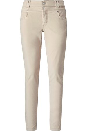 ANGELS Velvet trousers in skinny style size: 10