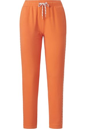 MYBC Ankle-length sweat trousers piping size: 10