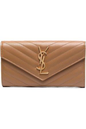 Saint Laurent Large flap wallet