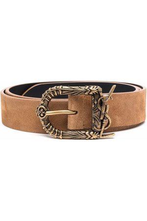 Saint Laurent Men Belts - Celtic buckle belt