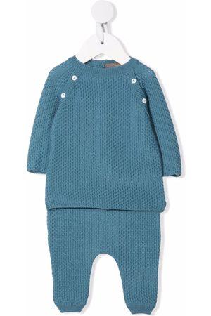 Little Bear Long-sleeved virgin wool pajamas