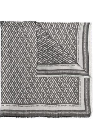 Versace Men Scarves - Greca-print scarf