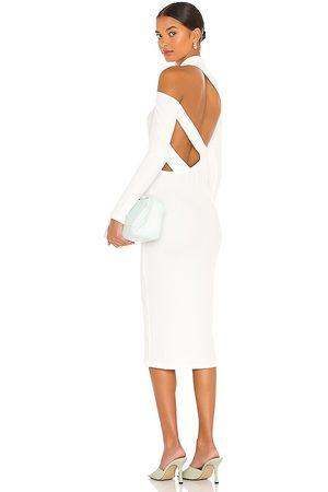 LNA Women Midi Dresses - X REVOLVE Auto Lux Midi Dress in . Size L, S, XS.