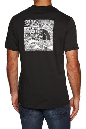 The North Face Men Short Sleeve - North Face Red Box Celebration s Short Sleeve T-Shirt - TNF