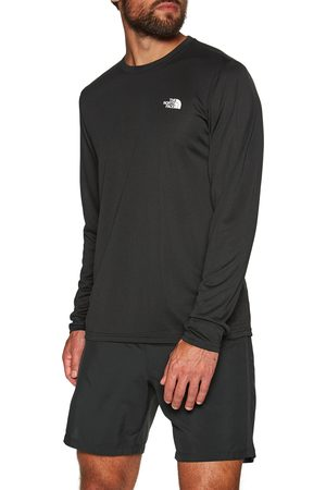 The North Face Men Sports Tops - North Face Long Sleeve Reaxion Amp s Sports Top - TNF