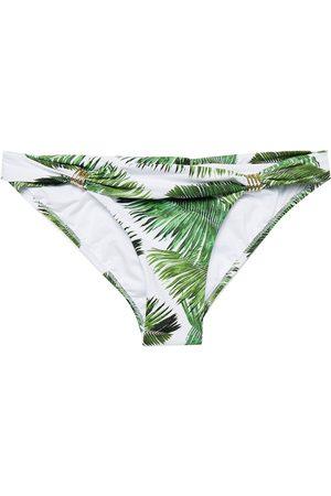 MELISSA ODABASH Women Briefs - Woman Grenada Printed Low-rise Bikini Briefs Size 38