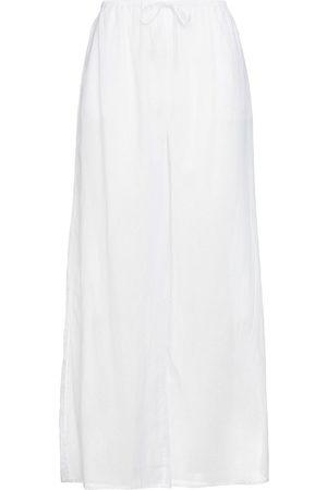 SKIN Woman Bette Cotton-voile Wide-leg Pants Size 2