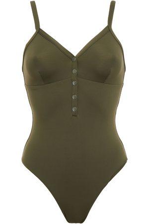 MELISSA ODABASH Women Swimsuits - Woman Nepal Swimsuit Army Size 38