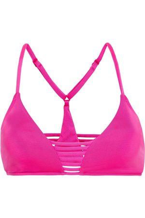Seafolly Woman Triangle Bikini Top Bright Size 10