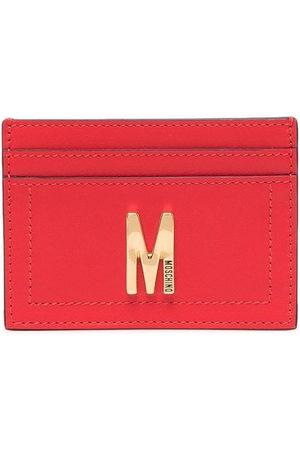 Moschino Women Purses & Wallets - Logo plaque cardholder