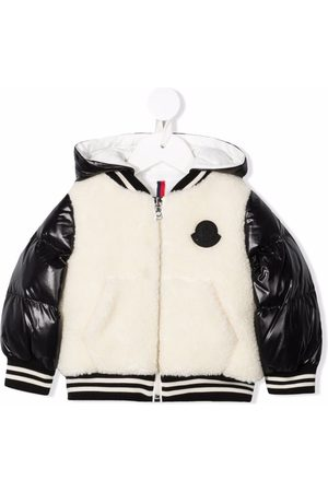 Moncler Hooded bomber jacket