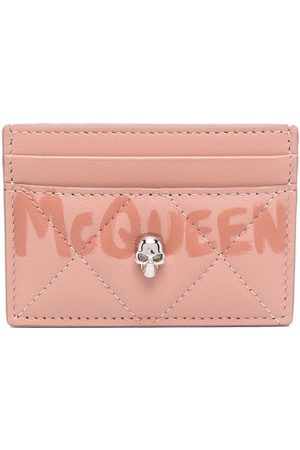 Alexander McQueen Quilted leather cardholder