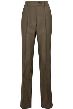Peter Do Women Formal Trousers - Wool-blend straight pants