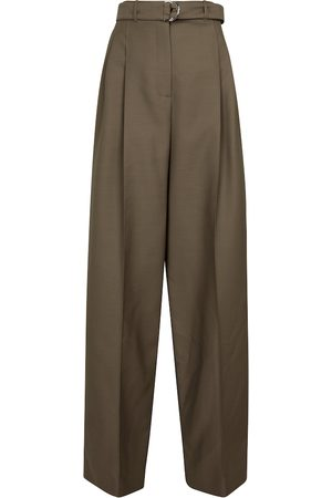 Peter Do Women Wide Leg Trousers - Wool-blend wide-leg pants