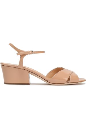 SERGIO ROSSI Women Sandals - Woman Patent-leather Sandals Blush Size 36.5