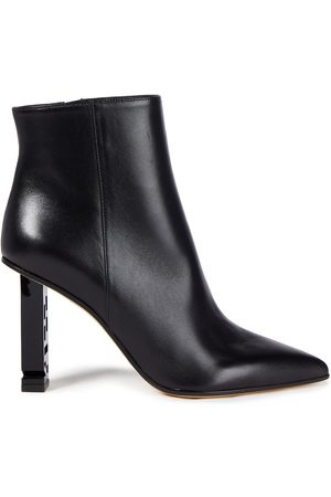 Sergio Rossi Women Ankle Boots - Woman Super Heel Leather Ankle Boots Size 36
