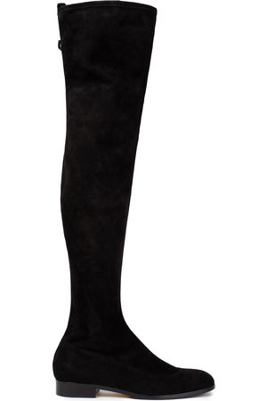 Sergio Rossi Women High Leg Boots - Woman Suede Over-the-knee Boots Size 36