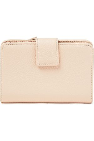 SERGIO ROSSI Women Purses & Wallets - Woman Pebbled-leather Wallet Blush Size