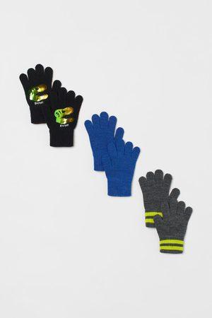 H&M 3-pack fine-knit gloves
