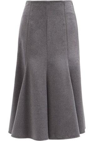 GABRIELA HEARST Amy Silk Midi Skirt - Womens - Multi