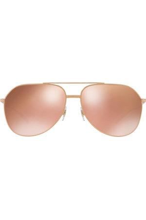 Dolce & Gabbana Eyewear Aviator-frame tinted sunglasses