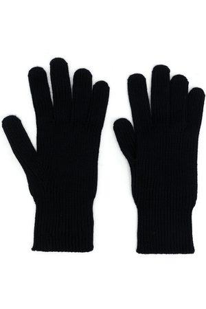 Moncler Men Gloves - Logo-patch wool gloves