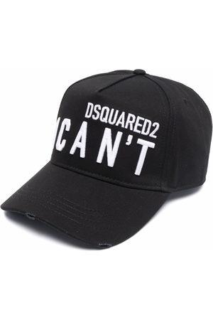 Dsquared2 Men Hats - I Can't slogan cap
