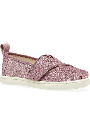 TOMS Casual Shoes - Pnk Glt Tn Alpr Esp Kids Slip On Shoes
